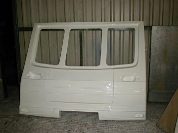 CPS-LUN-309 FRONT PANEL AND LOCKER LID